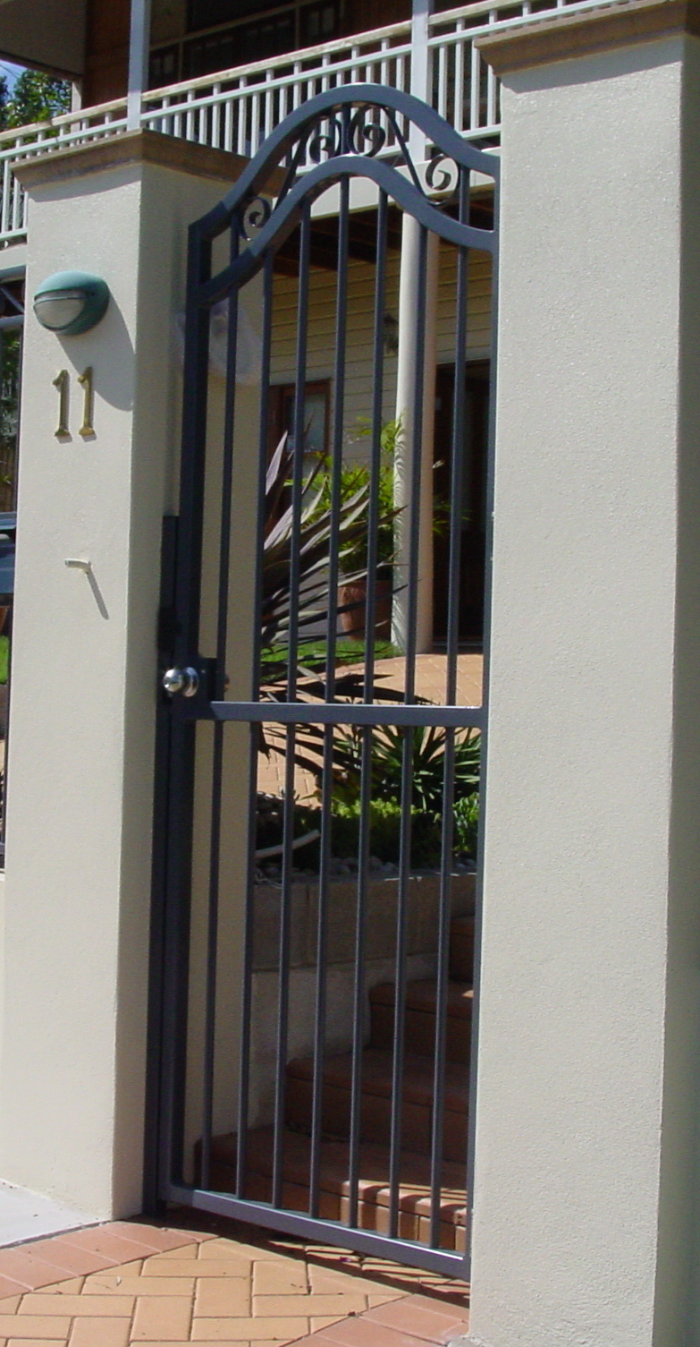 Pedestrian Gate Gallery Images Brisbane Automatic Gate