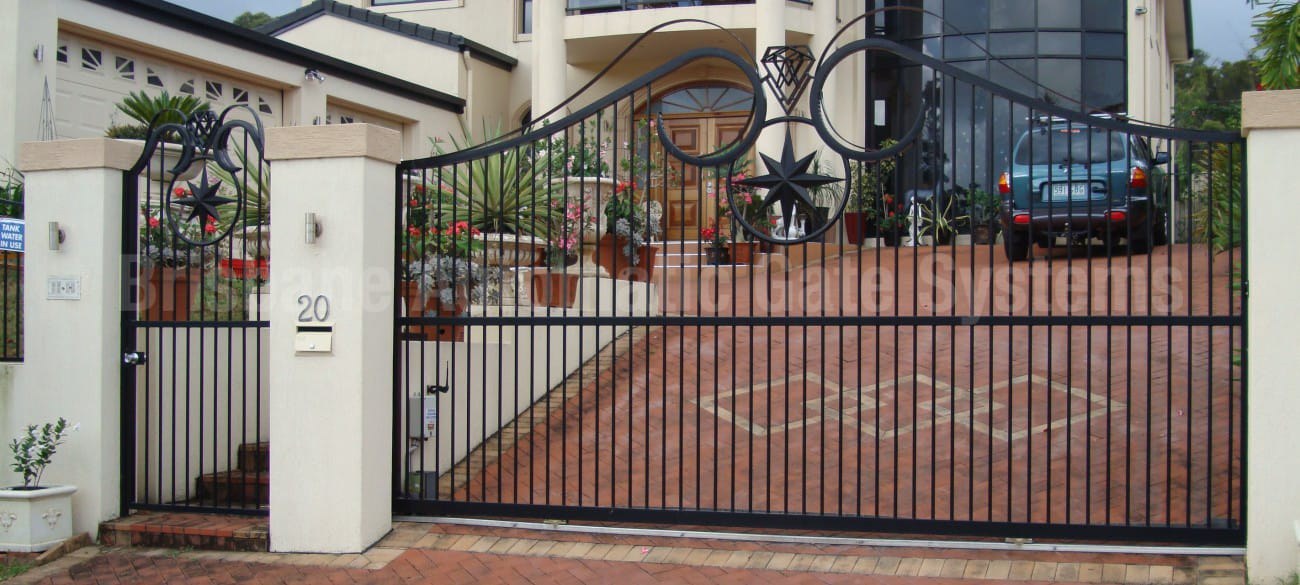 Sliding Gates Pictures Image Gallery Brisbane Automatic