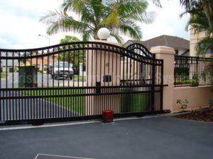 apartment security gates