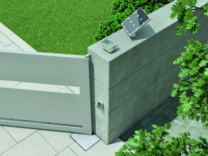 Nice Solemyo Solar - Brisbane Automatic Gate Systems