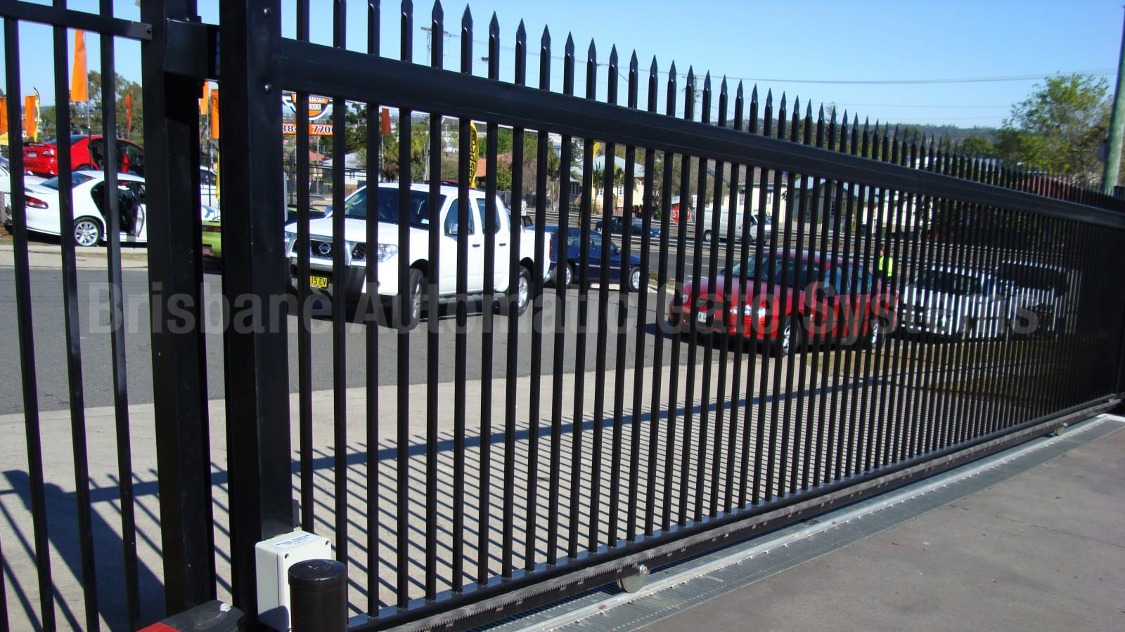 Commercial Gates Images Gallery And Pictures Brisbane